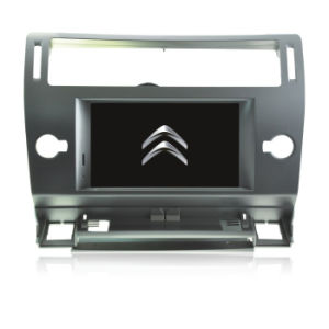Citroen Old C4l 2012 Car Double DIN DVD Player with GPS Bt Radio iPod 4G TPMS Mirror Link 1080P pictures & photos