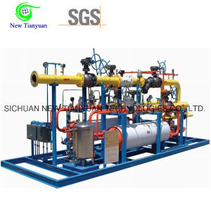 Fuel Gas Pressure Regulating & Metering Skid for Engineering Project pictures & photos