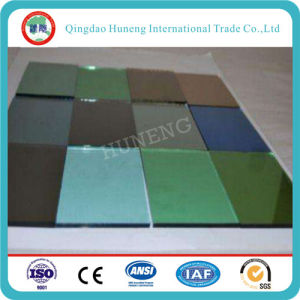 4-6mm Tinted Float Glass/Tinted Reflective Glass for Building pictures & photos