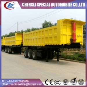 3 Axles 40t 50t Tipper Truck Semi Trailer for UAE pictures & photos