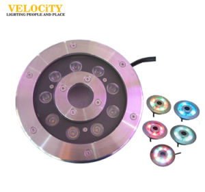 Factory 6W/9W RGB IP68 Stainless Steel LED Waterproof Fountain Light pictures & photos
