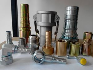 Stainless Steel 90 Degree Elbow Hydraulic Adapter pictures & photos