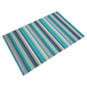 Stripes Promotional Textile Woven Placemat for Home & Restaurant pictures & photos