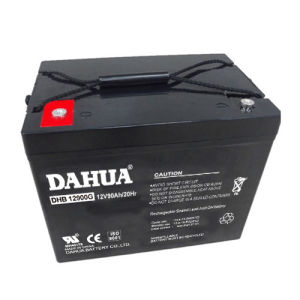 Dahua 12V 90ah Gel Solar Battery for Solar Systems pictures & photos