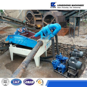 Vibrating Screen Machine with Cyclones for Recycle Silica Fine Sand pictures & photos