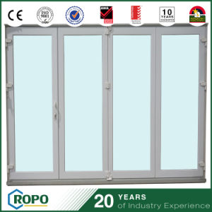 Hurricane Impact Exterior UPVC Bi Folding Door PVC Sliding Doors pictures & photos