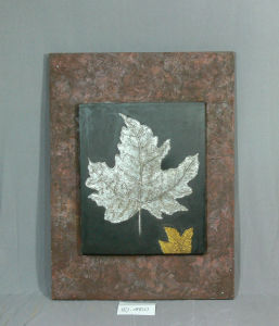 Silver Maple Leaf Pattern of Home Canvas Hanging Paintings pictures & photos