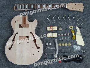 Pango Lp Semi-Hollow DIY Electric Guitar Kit / DIY Guitar (PLP-617K) pictures & photos
