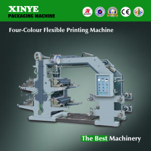 Four-Color Flexible Printing Machine for Plastic Film pictures & photos
