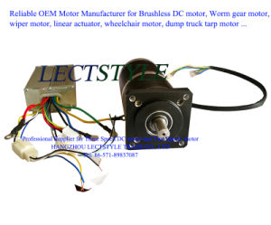 Brushless DC Variable Three Speed Motor for Cooling Fan and Subway Car Exhaust pictures & photos