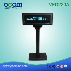 VFD220A Hot Selling Alphanumeric VFD Customer Display for Store pictures & photos
