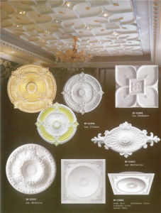 Home Decorative Wall Medallions PU Artistic Ceiling Medallions pictures & photos