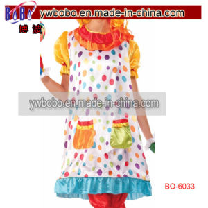 Birthday Circus Clown Wiggles Funny Classic Adult Womens Costume (BO-6033) pictures & photos