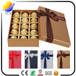 Delicate Customized Cake Chocolate Paper Box and Metal Gift Box pictures & photos