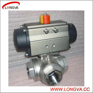Stainless Steel Thread Floating Ball Valve, Flange Ball Valve pictures & photos