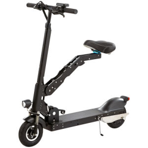 Wholesale Portable Mini Electric Folding Scooter with LED Light pictures & photos