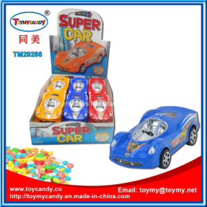 Good Selling Toys Car Super Friction Car Toy with Candy