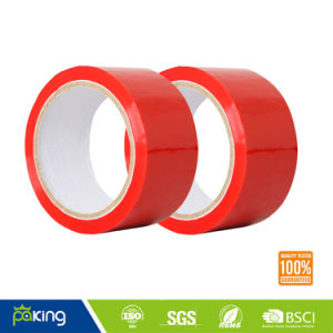 Red Color BOPP Adhesive Packing Tape with Good Adhesion pictures & photos