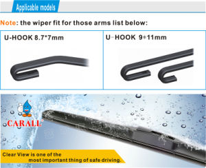 Automobile China Wiper Factory Wiper Blade Hybrid Windscreen Auto Parts Wiper Blade pictures & photos