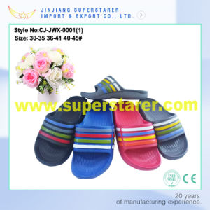 Unisex Lightweight EVA Slipper Anti-Slip Bathroom Slippers pictures & photos