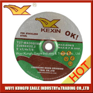 "Resin Grinding Wheel/Grinding Disc for Aluminum 9"" 230X6X22.2mm pictures & photos"