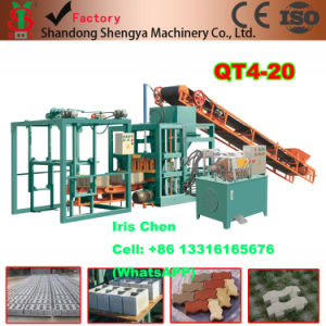 Qt4-20 Concrete Block Making Machine Price, Maquina De Bloco De Concreto pictures & photos