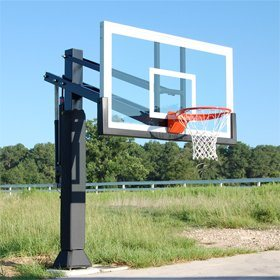 Stable in-Ground Basketball Stand, Novel Design Basketball Stand pictures & photos