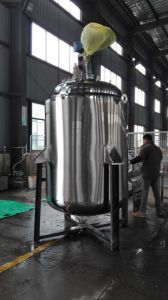 2000L Stainless Steel Jacketed Liquid Mixing Tank pictures & photos