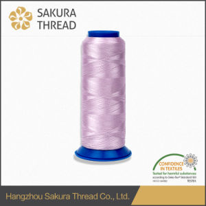 Oeko-Tex Sakura 100% 50d Polyester Filament Embroidery Thread pictures & photos
