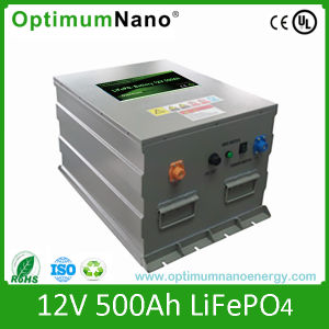 Un38.3 12V 500ah LiFePO4 Solar Battery with Smart BMS pictures & photos