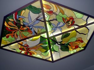 Decoration Fashion Styles Stained Glass Ceiling Lamp pictures & photos