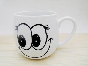 Cute Design Factory Price Plain White Ceramic Mug pictures & photos