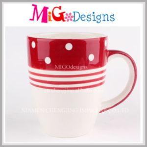 Unique Printing Ceramic Cups with Handle pictures & photos