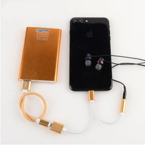 Adaptor for iPhone7 to Headphone+Charge Cable pictures & photos
