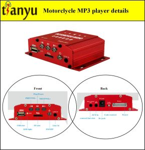 Motorcycle MP3 Amplifier with Alarm System 610 pictures & photos