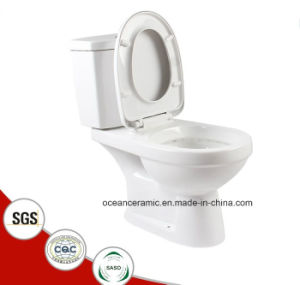 842 Sanitary Ware, Toilet Seats, Cheap Washdown Two-Piece Toilet pictures & photos