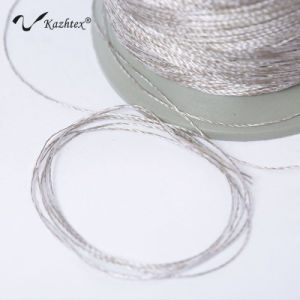 Silver Fiber Sewing Conducive Thread pictures & photos