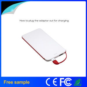 2016 New Arrival Super Thin 4000mAh Power Bank pictures & photos