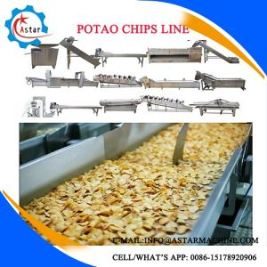 100/150/260/400kg/H Full Automatic Potato Chips Making Line pictures & photos