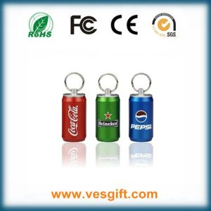 Cocacola USB Stick Hot Selling Design Metal Bottle Flash Drive pictures & photos