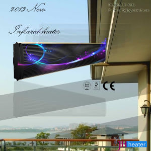 Eco Friendly Infrared Patio Heater with Rain Shield pictures & photos