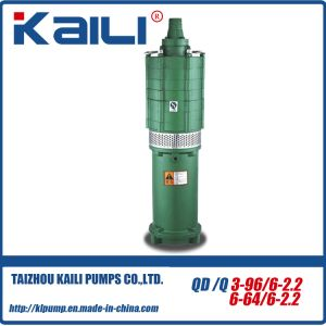 QD&Q Multistage Electric Submersible Water Pumps(QD10-40/3-2.2) pictures & photos