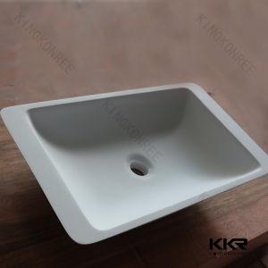 Building Project Hotel Bathroom Counter Vanity Wash Basin pictures & photos