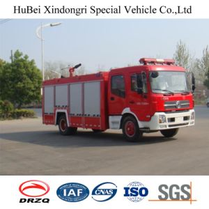 8ton Dongfeng Water Tank Type Fire Fighting Truck Euro 4 pictures & photos