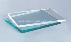 8mm Flast Polished Edge Clear Furniture Glas pictures & photos