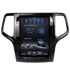 for Jeep Grand Cherokee Vertical Huge Screen Car GPS with Bt Radio Mirror Link pictures & photos