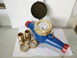 Cast Iron Dry Dial Cold Water Flow Meter pictures & photos