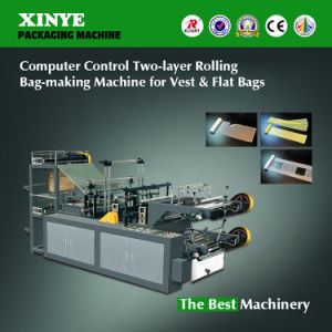Two Layers Rolling Bag Making Machine pictures & photos