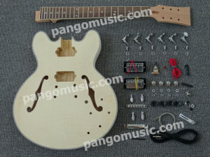 Pango Es335 Hollow-Body DIY Electric Guitar Kit / DIY Guitar (PHS-335K) pictures & photos