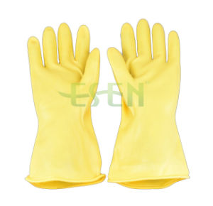 Wholesale Washing Gloves Dishwashing Laundry Rubber Gloves pictures & photos